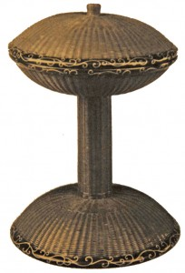 fig10: footed basket for religious ceremony