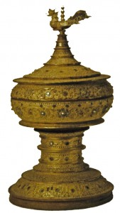 fig13: burmese offering container